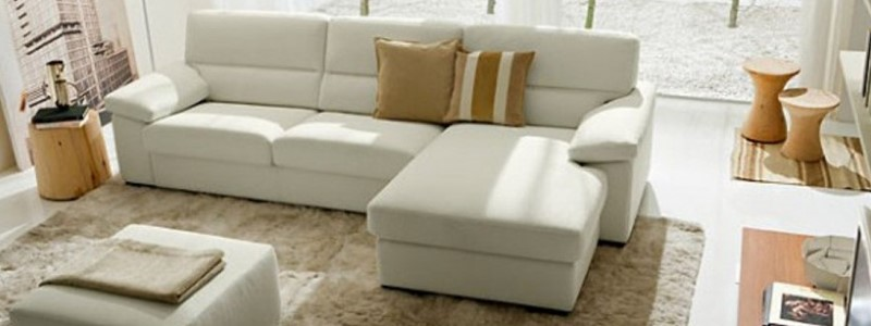 Sofa that is assembled