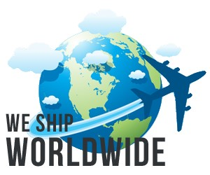 We ship to anywhere world wide icon